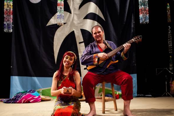 """Passeio para bebês? Sim! Espetáculo """"Ilha da Música"""" estreia no Teatro J. Safra para os pequenos até cinco anos"""