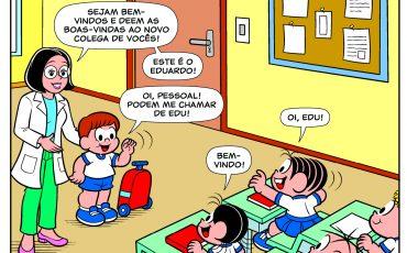 Turma da Mônica lança a primeira história com personagem portador de doença rara infantil
