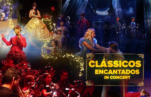 """Theatro Net São Paulo apresenta o musical """"Clássicos Encantados In Concert"""""""