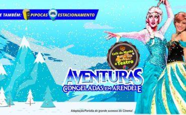 Manhã mágica com as princesas de Frozen! Café da Manhã + Teatro: Aventuras Congeladas em Arendele no Teatro BTC com 50% de desconto