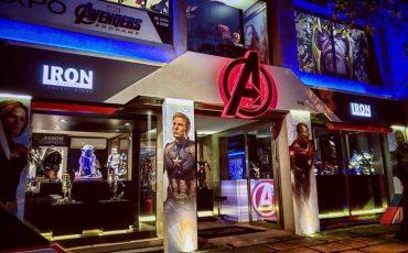 """Exposição Avengers em São Paulo: """"Avengers: EndGame Expo"""" reúne estátuas em miniatura e em tamanho real dos personagens de Vingadores Ultimato, além de holografias e projeções 3D"""