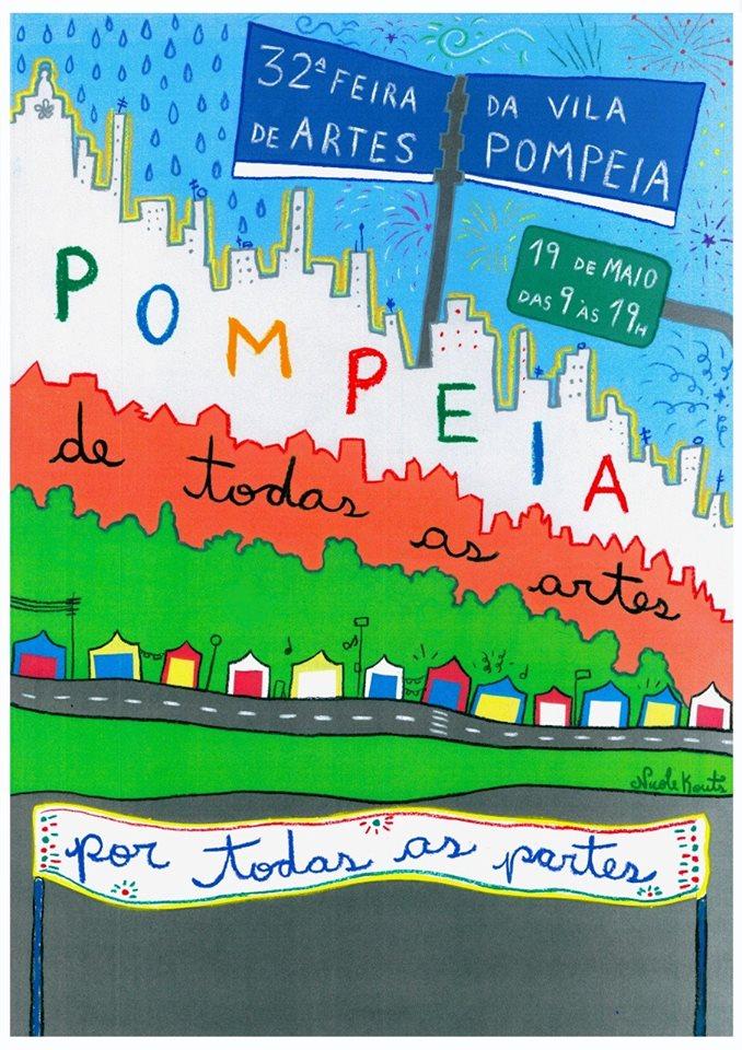 Zona Oeste recebe a 32ª edição da Feira de Arte da Vila Pompéia com muitos shows, brincadeiras e diversão para toda a família