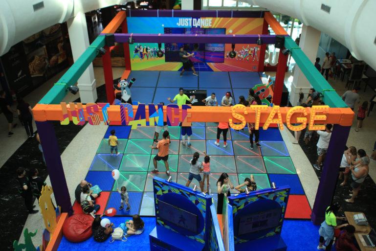 Pista de dança com 43 m²? Sim! Just Dance chega ao Shopping Jardim Sul e promete muita diversão para a garotada