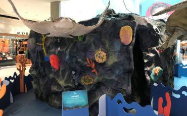 """Gratuito! Animais hiper-realistas e cenário interativo fazem parte da exposição """"Aventura no fundo do mar"""", no Shopping Metrópole"""